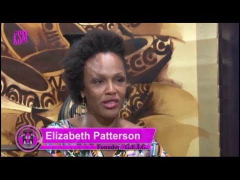 KSM Show- Elizabeth Patterson, founder of G.E.I.G and Vlisco Ambassador hangs out with KSM