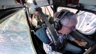 Citabria Aerobatics - Theresa and Grandpa