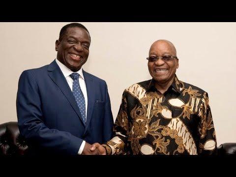 Mnangagwa has met President Zuma
