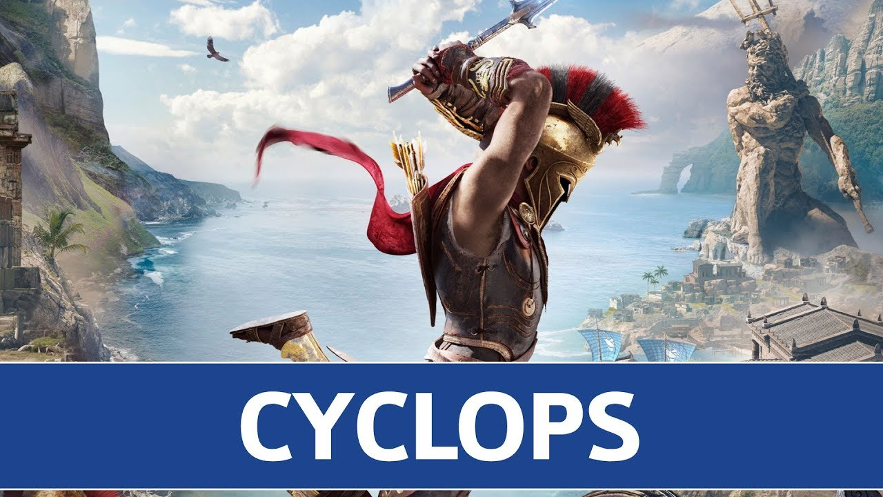 Assassin S Creed Odyssey Cyclops Boss Fight Location Youtube
