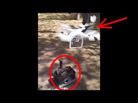 DRONE İLE MANGAL YAKMA