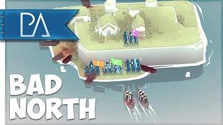 TO THE RAMPARTS!: VIKING INVASION  - Bad North Gameplay