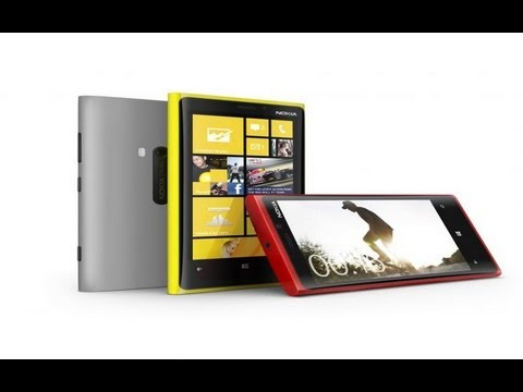 New Nokia Lumia 920 with Windows OS Loaded Smartphone !