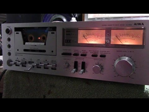 Aiwa AD6550 Cassette Deck Repair