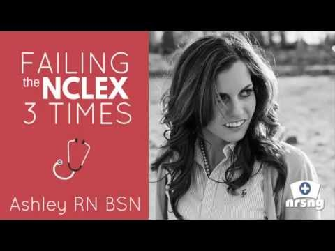 I Failed the NCLEX 3 Times (how to bounce back and become a Nurse!)