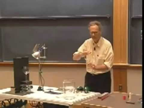 Lec 03: Damped Forced Oscillations, Destructive Resonance | 8.03 Vibrations and Waves (Walter Lewin)