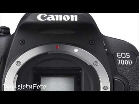Canon Eos 700D en Español