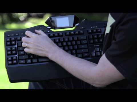 Logitech G19s Gaming Keyboard Unboxing & Overview