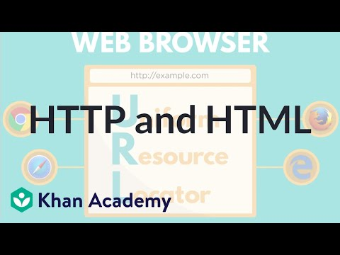 HTTP and HTML | Internet 101 | Computer Science | Khan Academy