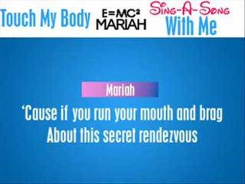 Backing Tracks - Mariah Carey's Touch My Body