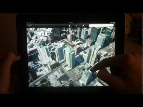 Google earth для IOS