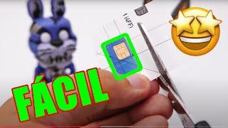 ✅ APRENDE Cómo Cortar la Tarjeta SIM o Micro SIM a nanoSIM (MUY FÁCIL)