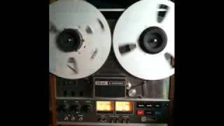 Old Antique 3m Paper Magnetic recording tape recorded in the late 40s early 50s