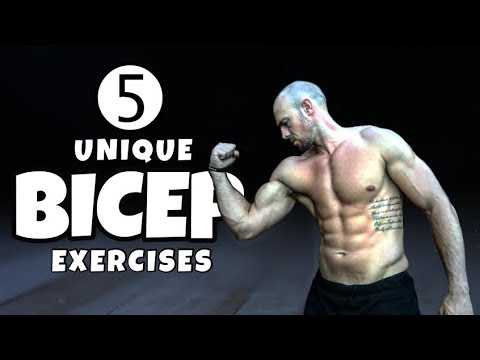 5 Top Bicep Exercises You Haven't Heard About