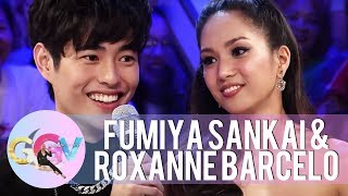 Vice Ganda feels the connection between Fumiya and Roxanne | GGV