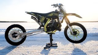 700cc 2 stroke Zabel Dirt Bike - Test Ride
