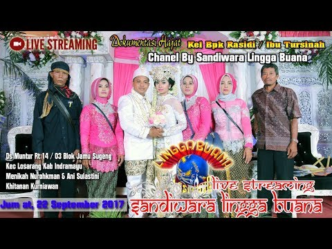 LIVE STREAMING LINGGA BUANA Jum'at, 22 September 2017 Ds Muntur   PENTAS  MALAM