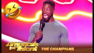 Preacher Lawson: Comedian Tackles Black Guy DATING White Girl! | America's Got Talent: Champions