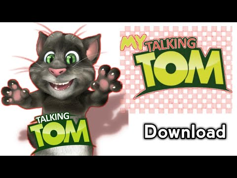 How To Download Talking Tom Software In Playstor / Talking Tom Cat / Android Apps Review/android7