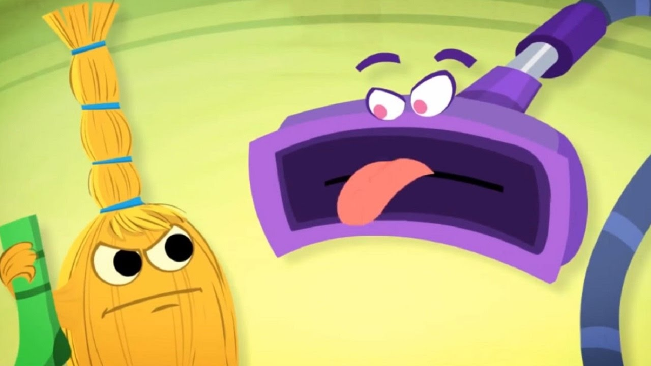 Фиксипелки: Пылесос - песенка из мультфильма Фиксики - теремок тв: песенки для детей