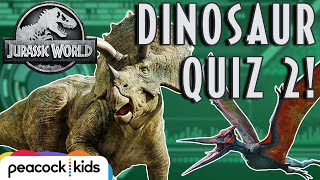 [QUIZ] Can You Guess the Dinosaur? Part 2 | JURASSIC WORLD