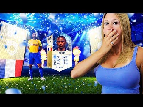 I PACKED ICON VIEIRA!! FIFA 18 125K LIGHTNING ROUND!