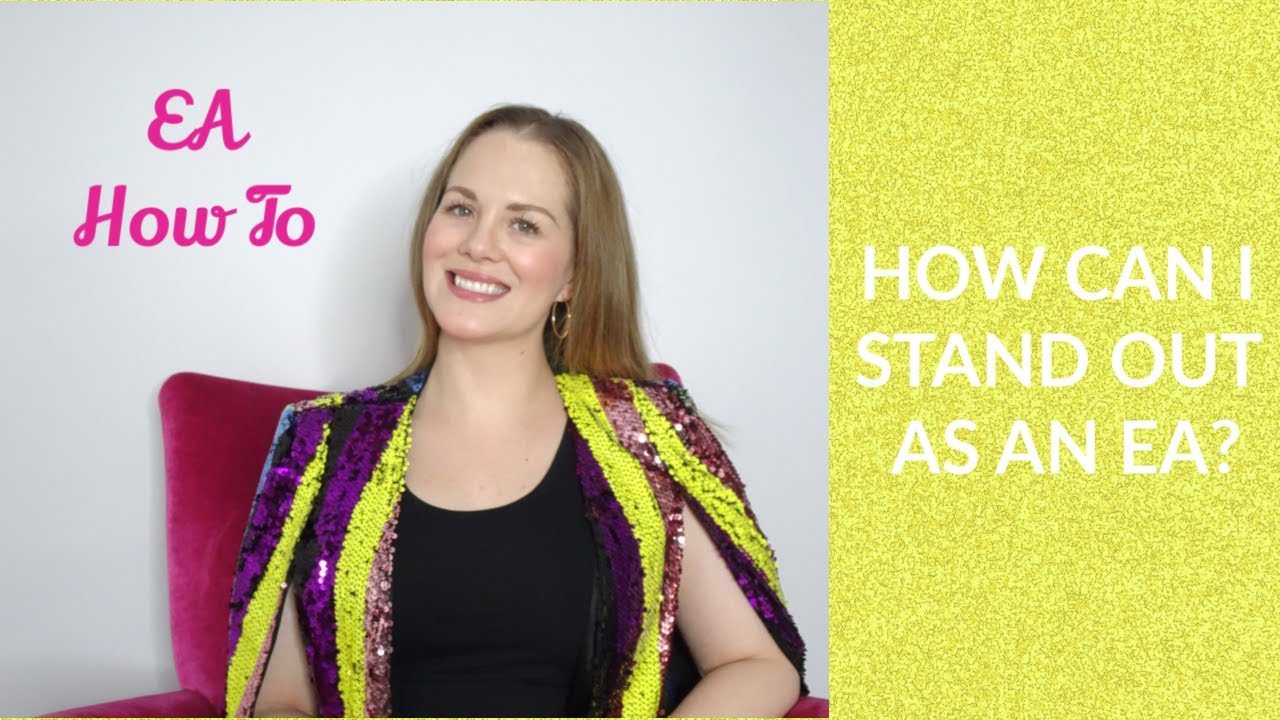 How to Stand Out as an Executive Assistant   Alicia Answers