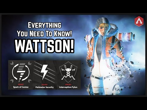 OFFICIAL Wattson Reveal & All Abilities Detailed Guide!! Apex Legends Season 2 Battle Charge