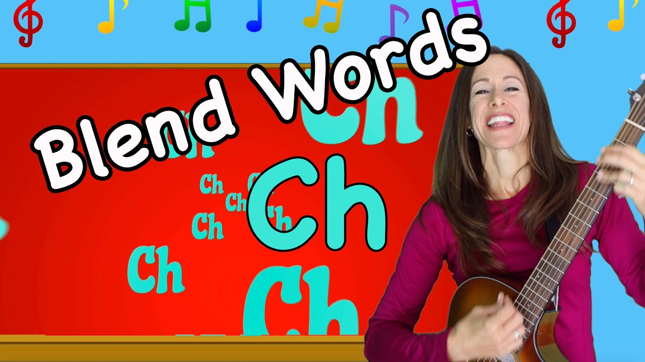 Blends Songs | Letter Blends CH | Consonant Song for Children by Patty Shukla
