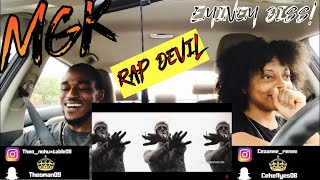 MACHINE GUN KELLY - RAP DEVIL( EMINEM DISS) Th&Ce' Reaction!