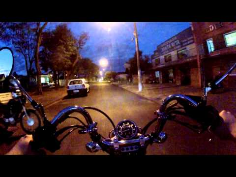 Test-Drive Virago 250 Yamaha... outro estilo, muito confortável, muito bonita a moto...