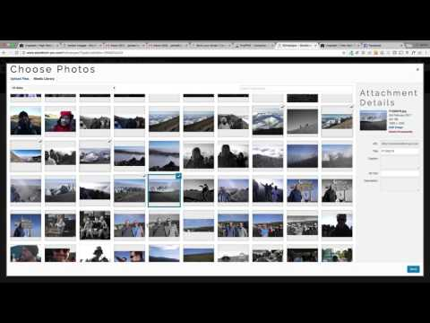How to create an 'unsplash com' style photo gallery
