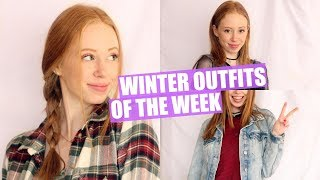 WINTER OUTFITS OF THE WEEK 2018 | JustAli