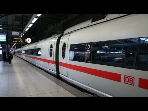 London to Cologne & Frankfurt by train