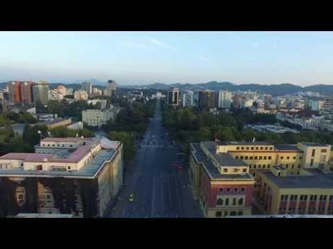 Tirana, Albania   In 4K!