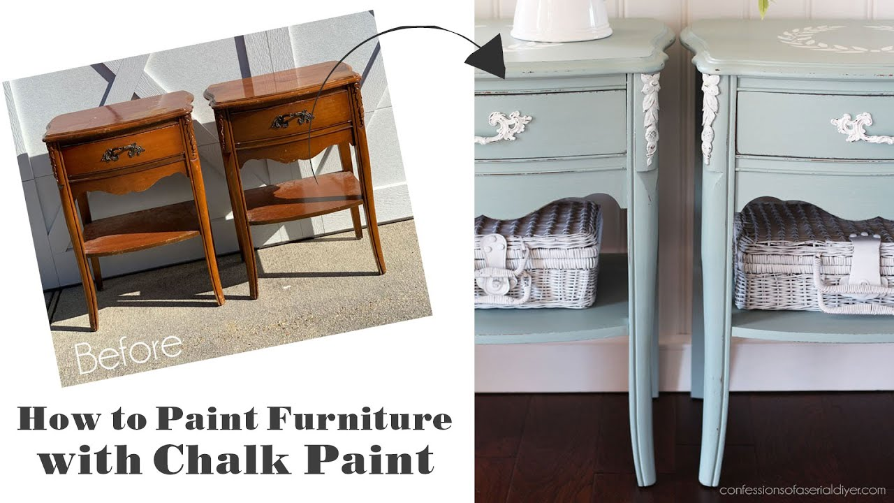 How To Chalk Paint Furniture A Step By Step Guide Confessions Of A Serial Do It Yourselfer