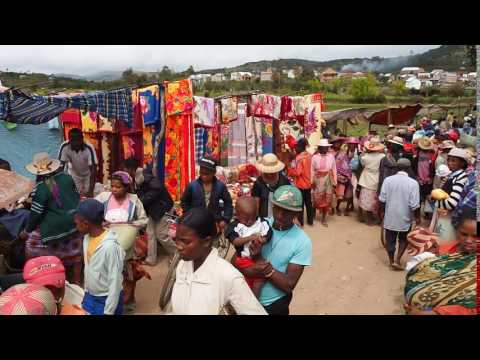 Market day in Ivato, Madagascar..