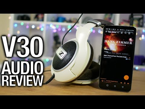 LG V30 Real Audio Review: It's so good, let's rant!
