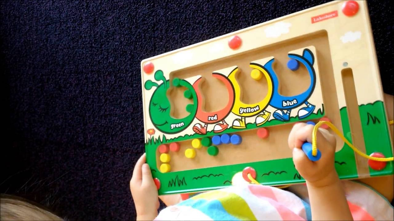 Lakeshore Learning Toys Magnetic Maze Toddler Learning Shapes