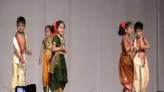 sumaswara at karnatakaday performing Janapada dance