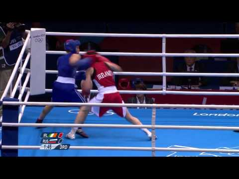 Katie Taylor Wins Olympic gold in London 2012 Olympic Games (pt1)
