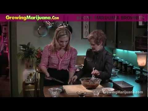 Cooking With Marijuana - No Frownie Marijuana Brownie