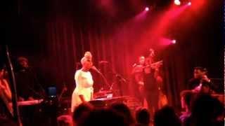 Laura Mvula @ Paradiso Amsterdam 11012013 'MorningDew'