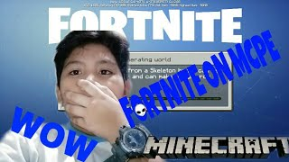 Fortnite on MCPE!! a (requested by: Kale Get)
