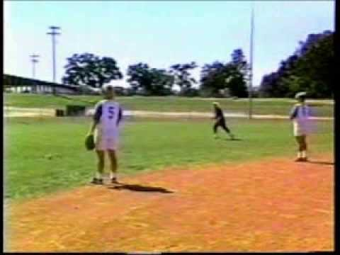 Zig Zag Drill for Softball Outfielders