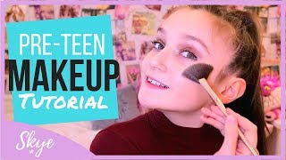 Pre-Teen Makeup Tutorial With Skye