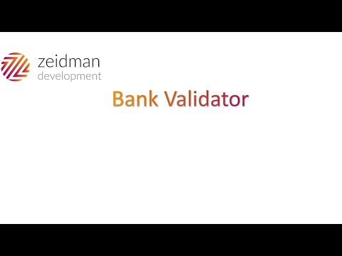 Bank Validation for Blackbaud Enterprise CRM