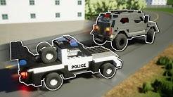 COPS vs ROBBERS 2! -  Brick Rigs Multiplayer Gameplay & Challenge