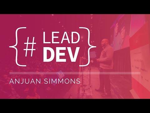 Anjuan Simmons at The Lead Developer New York 2017