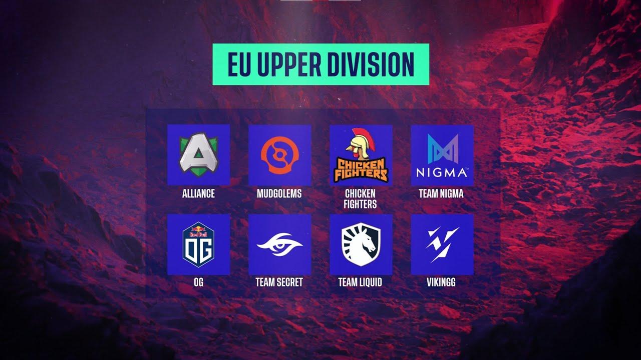DreamLeague Season 14 DPC EU Title Contenders